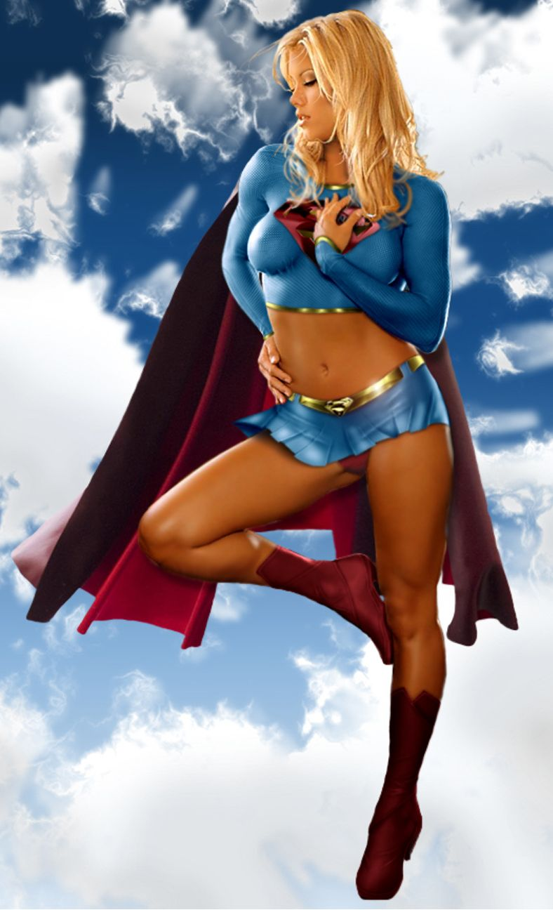 That interfere, Sexy cosplay supergirl hot